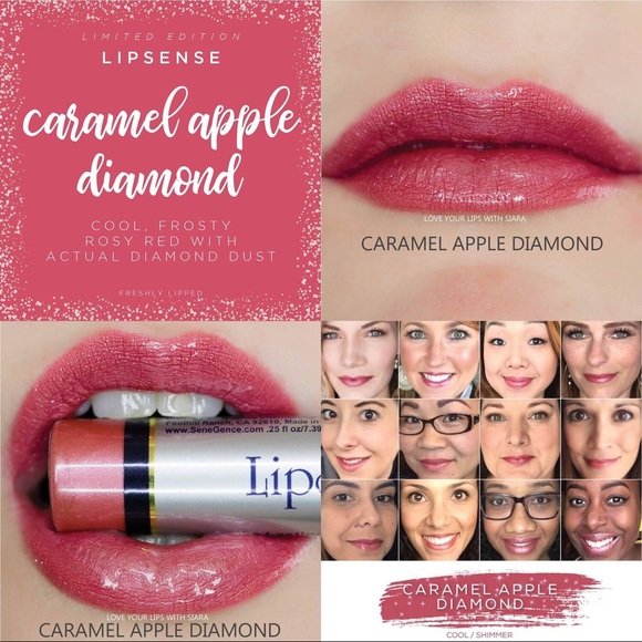 SeneGence Other - NWT Caramel Apple Diamond Lipsense